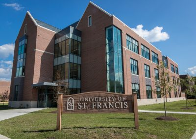 University of St. Francis – LaVerne & Dorothy Brown Science Hall